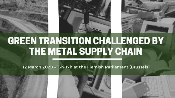 Green transition challenged by the metal supply chain