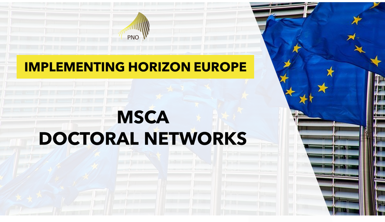Implementing HORIZON EUROPE: MSCA Doctoral Networks