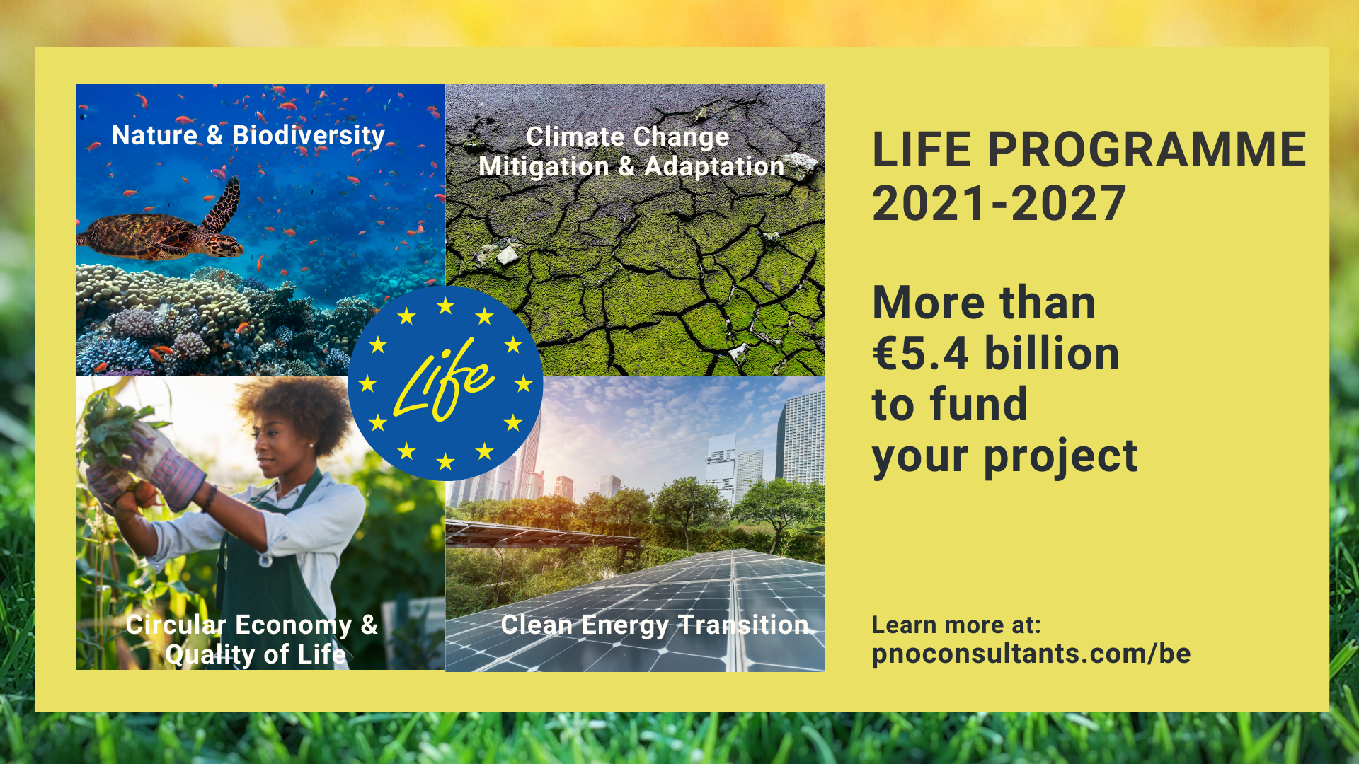 LIFE 2021-2027: More opportunities for the green economy