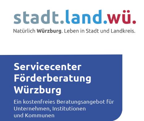 Servicecenter Förderberatung Würzburg, neue Beratungsstatistik