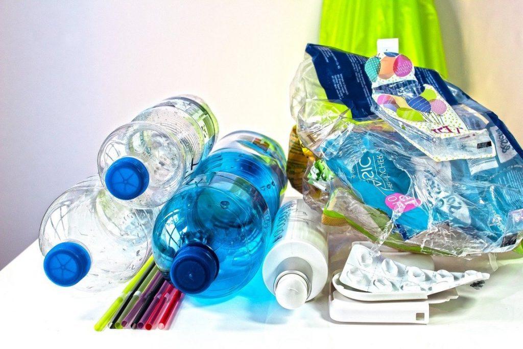 recycling von plastik abfällen