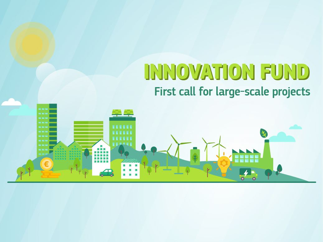 First Innovation Fund call for large-scale projects: 70 projects invited to submit full application