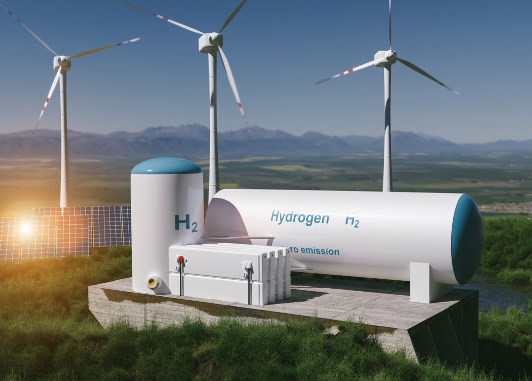 dekarbonisierung durch grünen wasserstoff