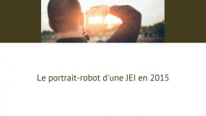 Portrait robot d'une JEI en 2015