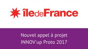 Appel à projet Innov'up Proto 2017