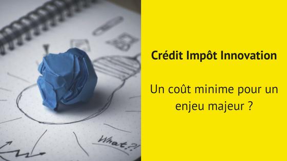 Crédit Impôt Innovation: un enjeu majeur ?
