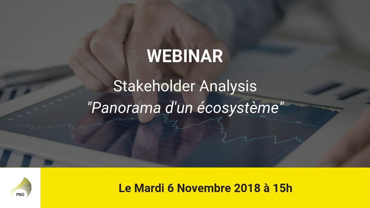 Webinar Stakeholder Analysis
