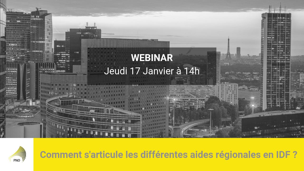Comment s'articule les différentes aides régionales en Île-de-France