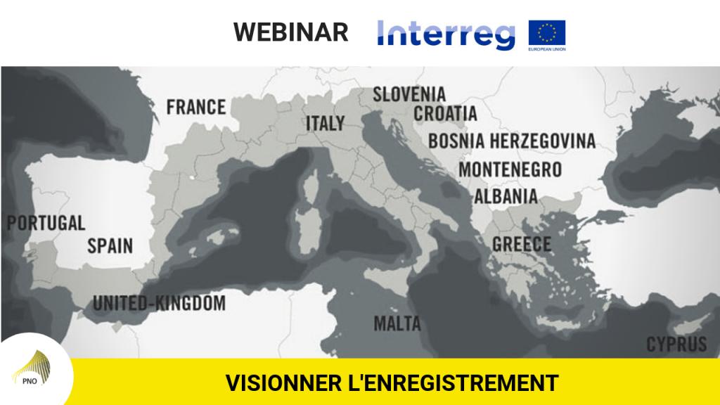 visionner l'enregistrement webinar INTERREG