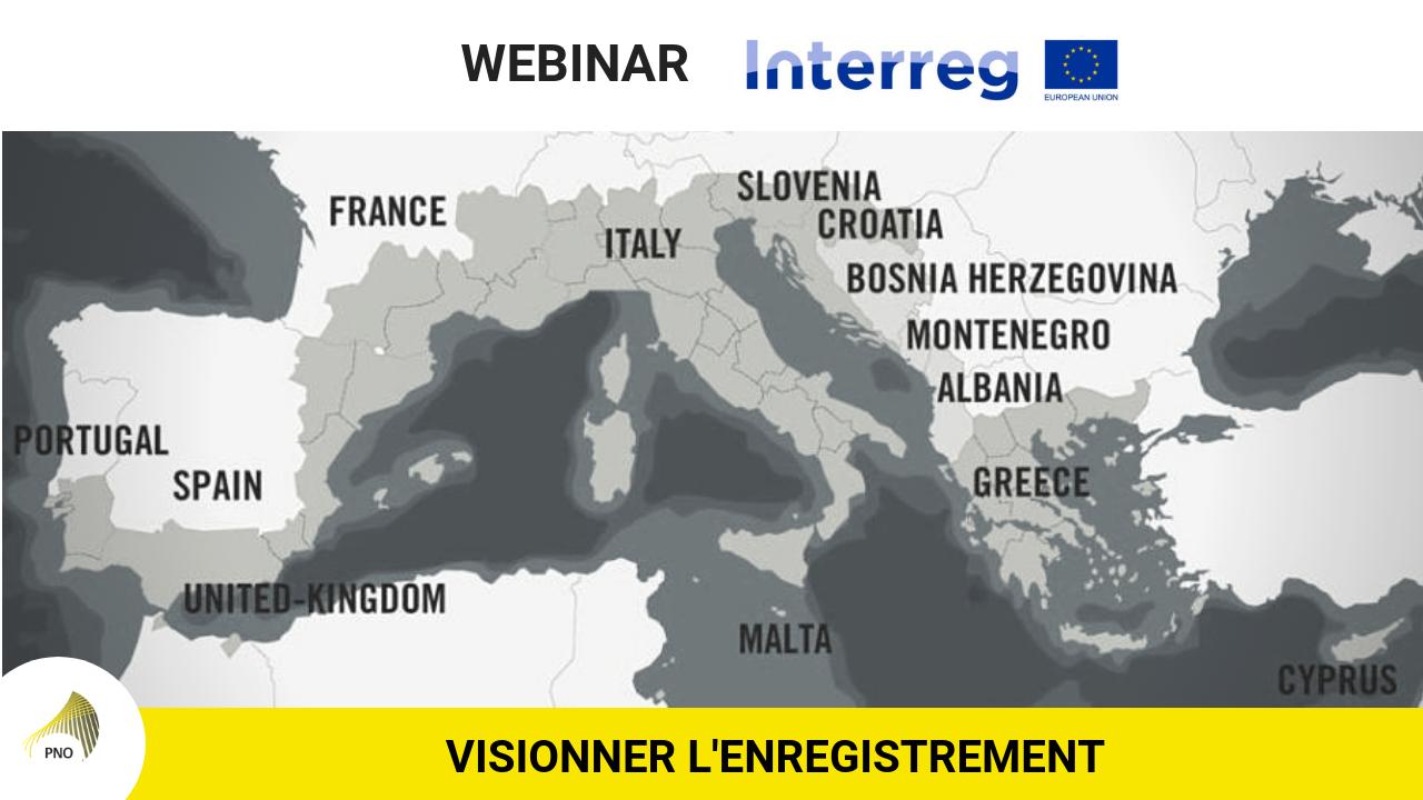 Visionner notre webinar INTERREG