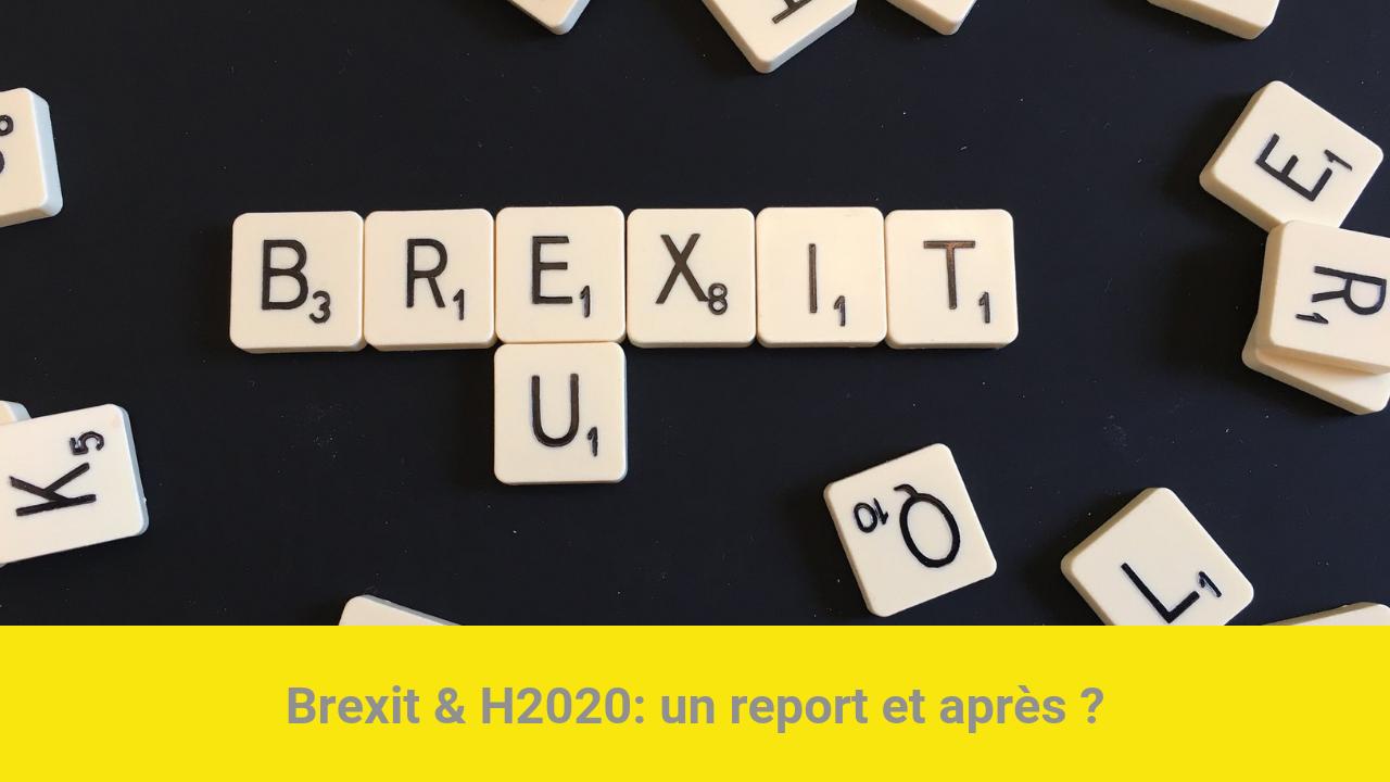 Brexit H2020 report et après