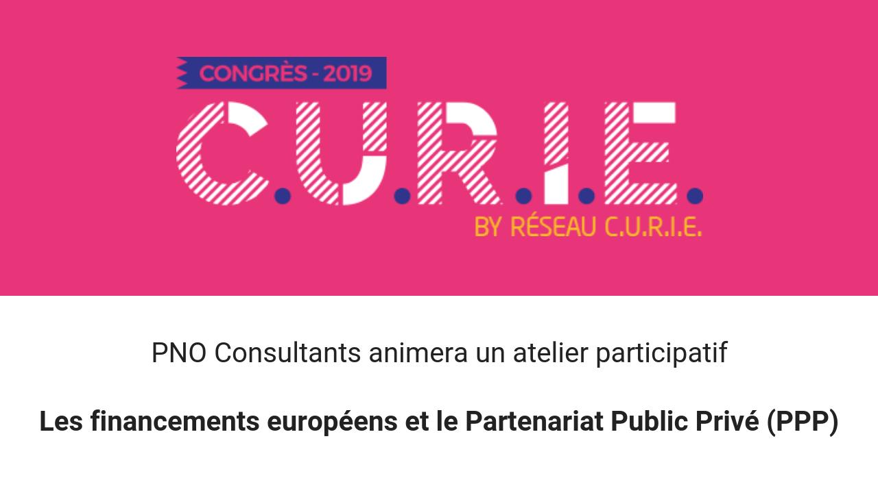 [Congrès Curie 2019] PNO animera un atelier participatif
