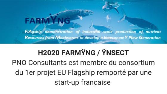 H2020 FARMYNG PNO consultants membre du consortium