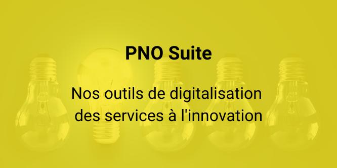 PNO Suite digitalisation services innovation