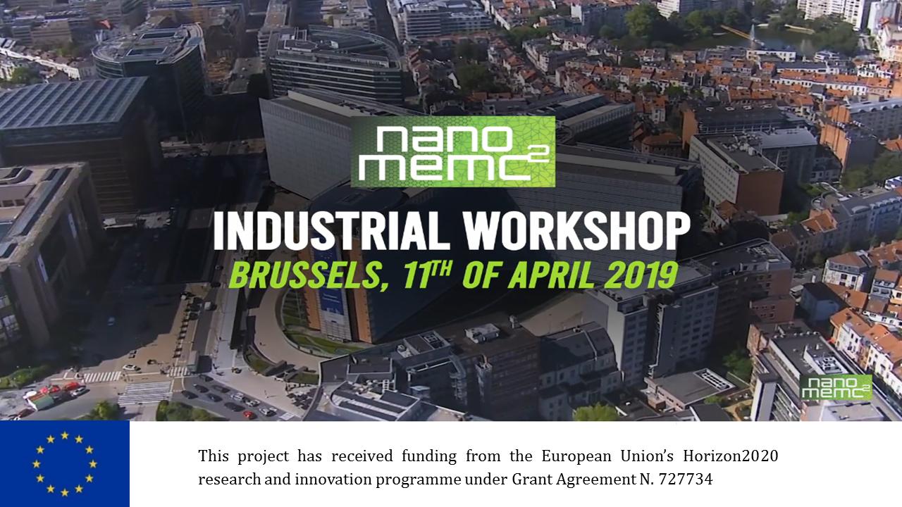 NANOMEMC2 Industrial workshop – un successo