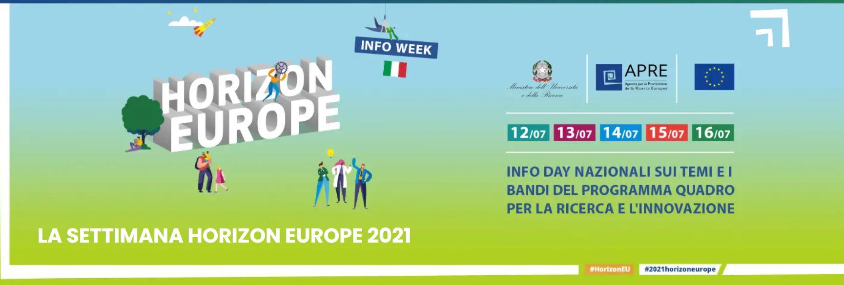 Disponibili i video degli Info day su Horizon Europe