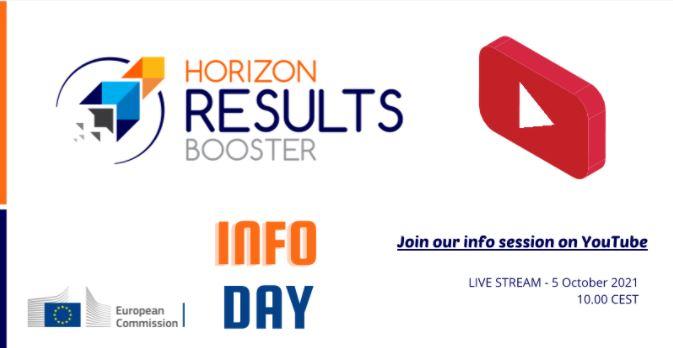 "Infoday online ""Horizon Results Booster"", 5 ottobre"