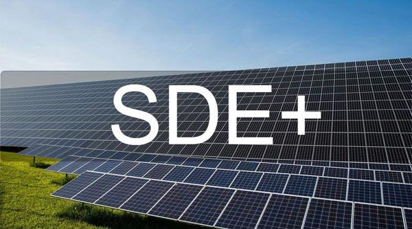 SDE subsidie