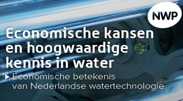 Rapport: ECONOMISCHE KANSEN EN HOOGWAARDIGE KENNIS IN WATER
