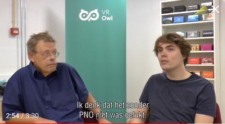 VR Owl vertelt over zijn ervaringen met de WBSO en PNO.