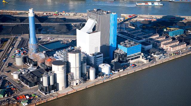 ENGIE kolencentrale biomassa