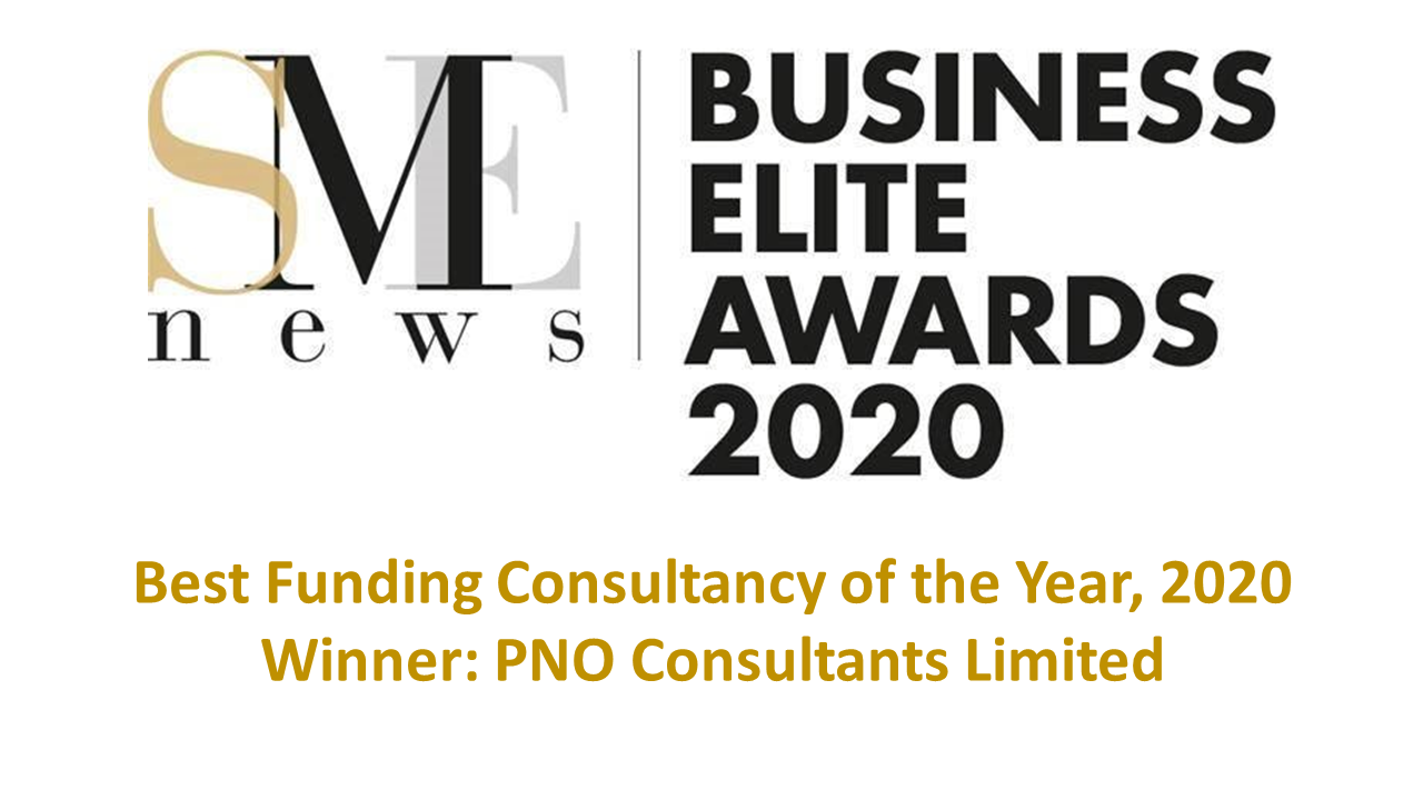 PNO recognised as the Best Funding Consultancy of the Year, 2020